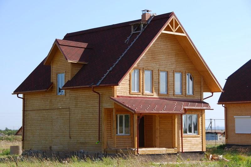 Расчет размеров ломаной крыши