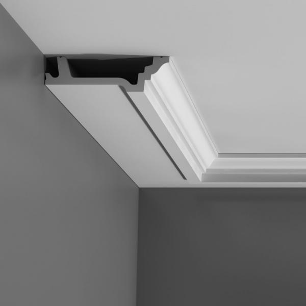 Как сделать угол на потолочном плинтусе из пенопласта