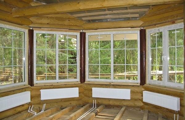 Окна для веранды на дачу