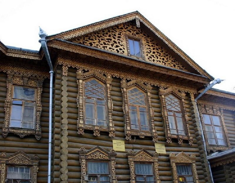 дом бревенчатый 200 лет