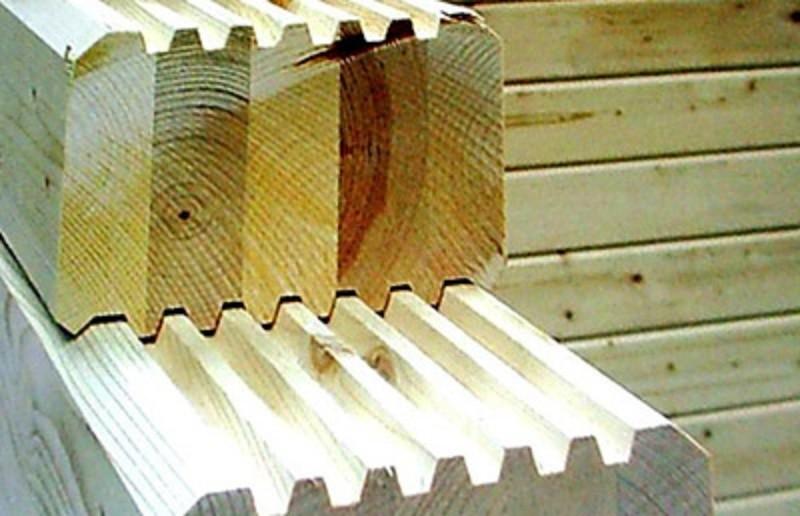 Клееный брус для строительства
