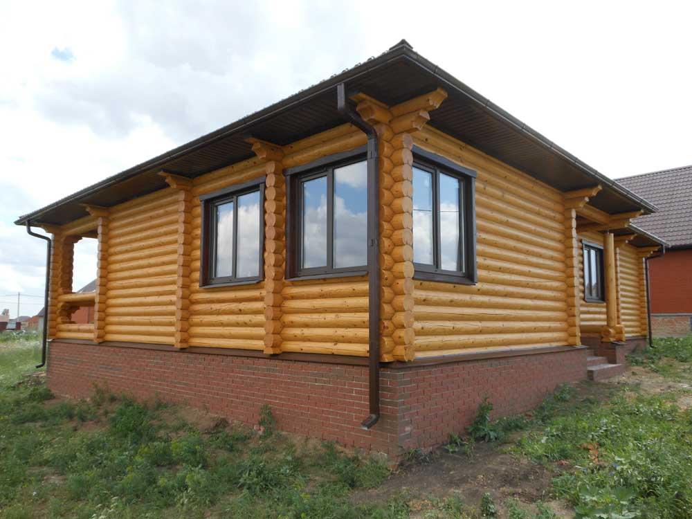 проект бревенчатого дома 11*15 метра, изготовлен ТвойДомСтройСервис
