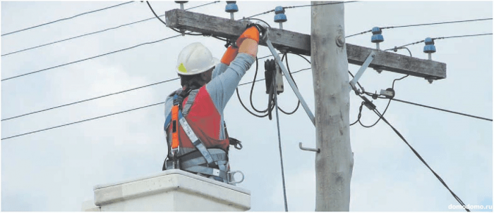 Подключение электричества в СНТ