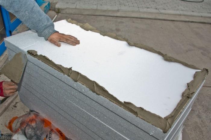 Как утеплить дом пенопластом снаружи своими руками