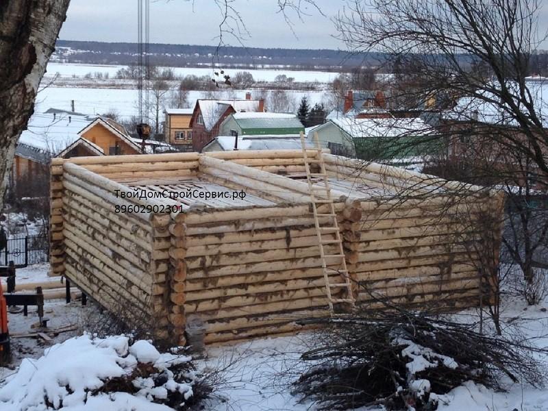 строительство сруба в Серпухове