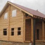 Проект бревенчатого дома Викинг 7,5x12,5 м