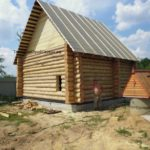 бревенчатый дом 6*6 метра