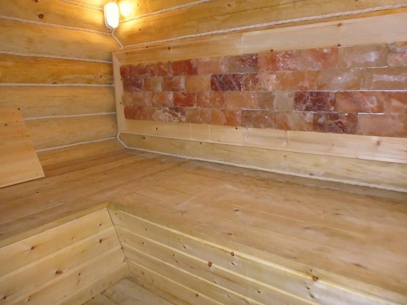 отделка сруба бани 5*5+2 метра