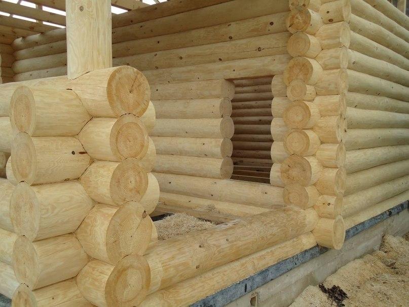 строительство сруба 6*9 метра ТвойДомСтройСервис